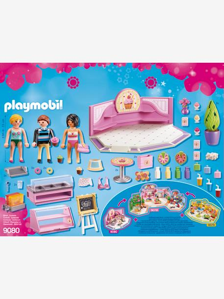9080 Cupcake Shop by Playmobil PINK MEDIUM SOLID WITH DESIG