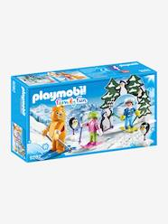 Toys-Playsets-9282 Ski Lesson by Playmobil
