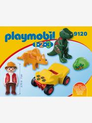 Toys-9120 Explorer with Dinos by Playmobil 1.2.3