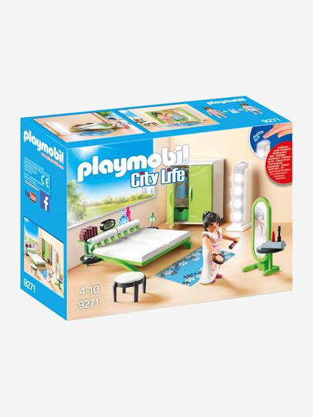 9271 Bedroom by Playmobil GREEN MEDIUM SOLID WITH DESIG
