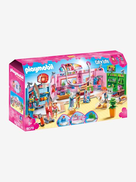 9078 Shopping Plaza, by Playmobil PINK MEDIUM SOLID WITH DESIG