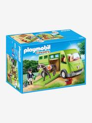 Toys-Playsets-6928 Horse Box by Playmobil