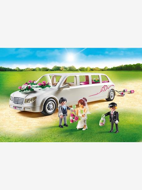 9227 Wedding Limo by Playmobil WHITE BRIGHT SOLID WITH DESIGN