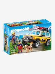 Toys-Playsets-9128 Mountain Rescue Truck by Playmobil