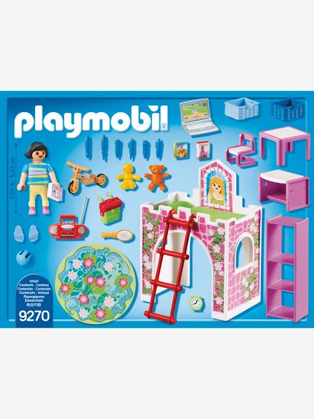 9270 Children's Room by Playmobil PINK MEDIUM SOLID WITH DESIG