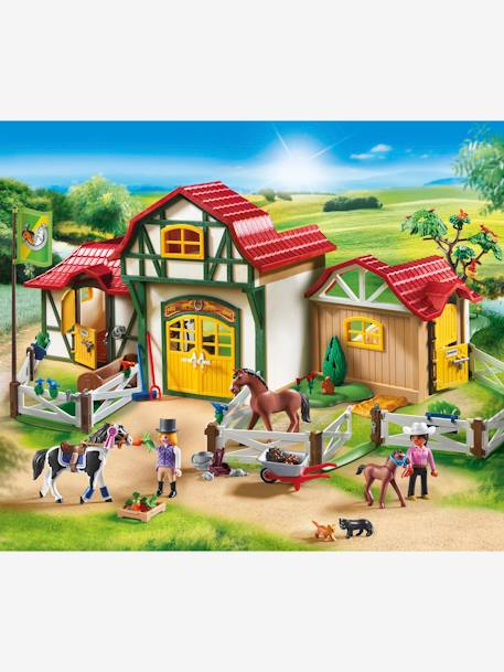 6926 Large Horse Farm by Playmobil BEIGE LIGHT SOLID WITH DESIGN