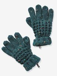 Boys-Accessories-Winter Hats, Scarves & Gloves-Mottled Gloves for Boys
