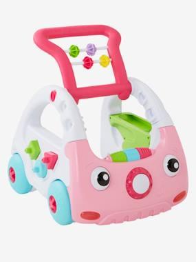 Image of 3-in-1 Mini-Car Baby Walker, BLUE BOX pink medium 2 color/multicol
