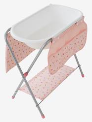 Toys-Doll Houses & Accessories-Baby Changer with Bath for Dolls
