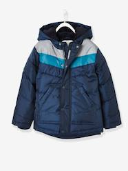 Boys-Three-Tone Down Jacket with Reflective Details, for Boys