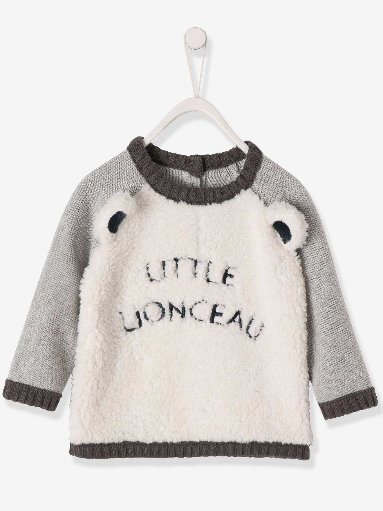 36a701399 Soft Jumper for Baby Boys