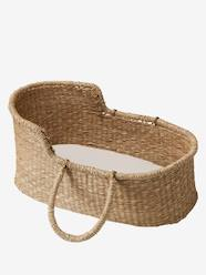 Toys-Wicker Carrycot for Baby Doll