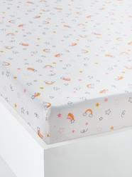 Furniture & Bedding-Child's Bedding-Fitted Sheets-Fitted Sheet for Children, CRAZY LICORNE Theme
