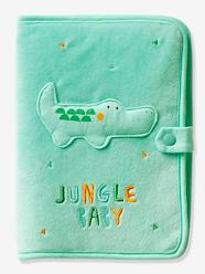 Nursery-Changing Mats-Medical Records Cover, Jungle Baby