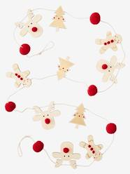 Storage & Decoration-Decoration-Wall Décor-Wooden Christmas Garland