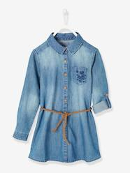 Girls-Dresses-Denim Dress for Girls