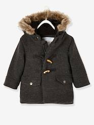 Baby-Outerwear-Coats-Woollen Duffle Coat for Baby Boys