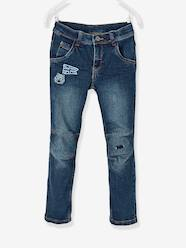 Boys-Trousers-WIDE Hip, Slim Leg Jeans for Boys