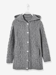 Girls-Hooded Cardigan for Girls