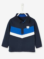 Baby-T-shirts & Roll Neck T-Shirts-T-Shirts-Polo Shirt with Explorer Motif for Baby Boys