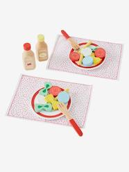 Toys-Kitchen Toys-Set of Different Wooden and Fabric Pastas