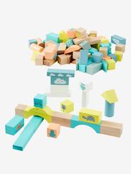 Toys-Puzzles & Building Games-Wooden Construction Game, 100 Pieces