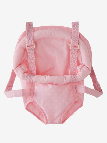 Doll Baby Carrier PINK MEDIUM 2 COLOR/MULTICOL