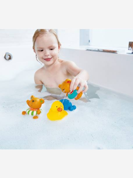Set of Bath Squirters, by HAPE RED MEDIUM 2 COLOR/MULTICOL