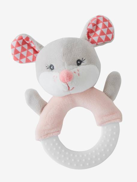 Teether Ring, Mimi Mouse PINK LIGHT 2 COLOR/MULTICOL R