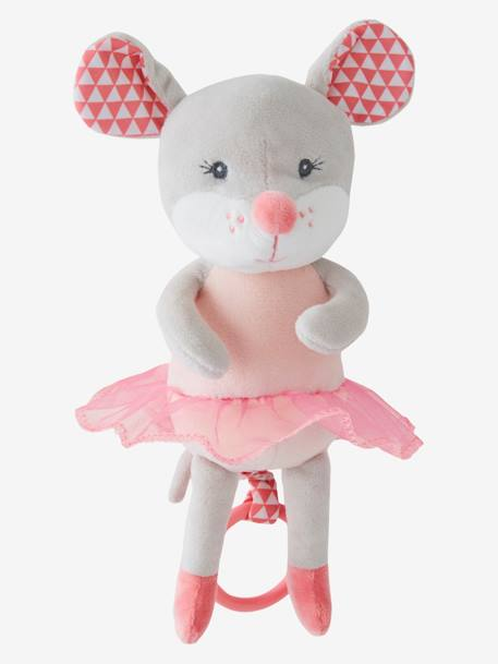 Musical Soft Toy, Mimi Mouse PINK LIGHT 2 COLOR/MULTICOL R