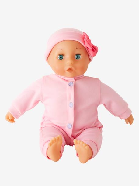 Baby Girl Doll PINK LIGHT SOLID WITH DESIGN