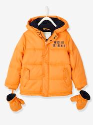 Boys-Padded Jacket for Boys, Fleece Lining