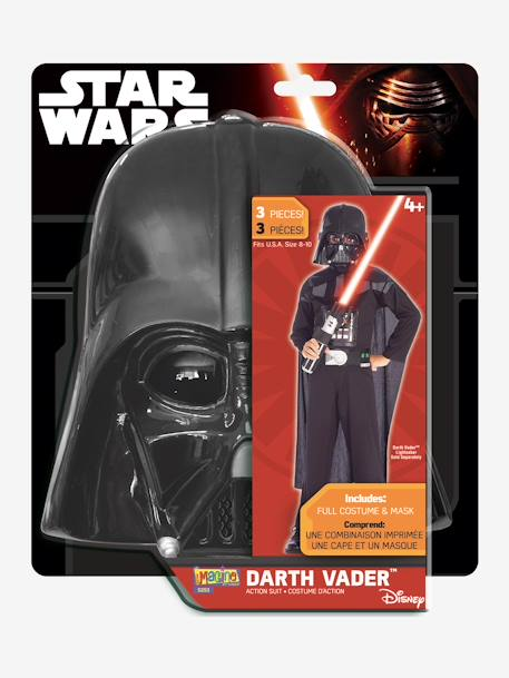 Darth Vader Costume, by RUBIES BLACK DARK SOLID WITH DESIGN
