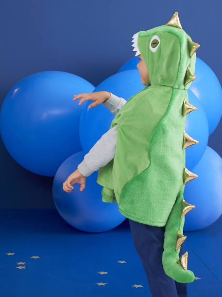 Dinosaur Costume GREEN BRIGHT SOLID WITH DESIG