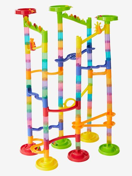 Marble Run (+100 pieces) BLUE BRIGHT 2 COLOR/MULTICOL