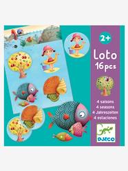 Toys-Cubes & Building Games-4 Seasons Lotto, by DJECO