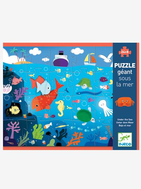 Under The Sea 24-Piece Giant Puzzle, by DJECO BEIGE MEDIUM SOLID WITH DECOR