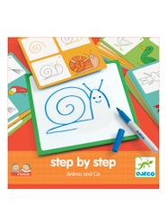 Toys-Step by Step Animals, by DJECO