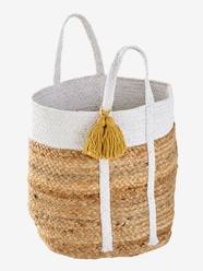 Storage & Decoration-Storage-Storage Boxes & Baskets-Wicket Basket with Lurex Thread, Marguerite