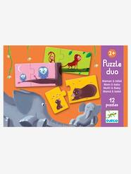 Toys-Cubes & Building Games-Mum and Baby Puzzle Duo, by DJECO