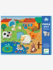 Toys-Cubes & Building Games-Tactile Farm Puzzle, 20 Pieces, by DJECO