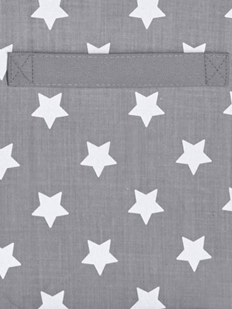 Large Fabric Storage Box BLUE LIGHT ALL OVER PRINTED+Green/stars+Grey / stars+Pink / hearts+YELLOW MEDIUM ALL OVER PRINTED