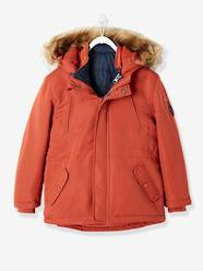 Boys-4-in-1 Parka with Fleece Lining for Boys