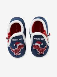 Shoes-Baby Footwear-Slippers-Slippers with Zip for Boys