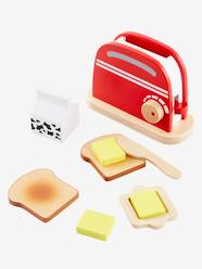 Toys-Kitchen Toys-Wooden Toaster Set
