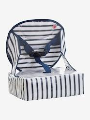 Nursery-High Chairs & Booster Seats-Easy Up Chair Booster , BABY TO LOVE