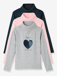 Girls-Girls' Pack of 3 Undersweaters