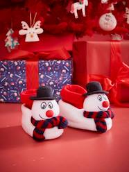 Shoes-Boys Footwear-Slippers-Snowman Slippers for Children