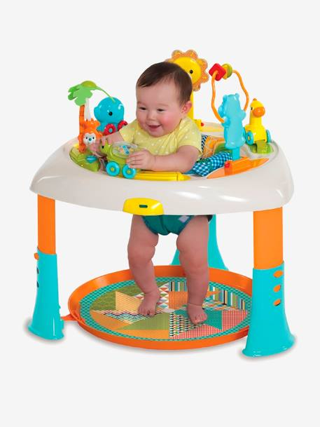 Adaptable 2-in-1 Activity Table, BLUE BOX WHITE LIGHT SOLID WITH DESIGN