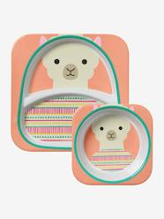 Nursery-Mealtime-Zoo Plate & Bowl Set by SKIP HOP